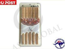 5 Pairs Stainless Steel Chopsticks Asian Japanese Dinner High Quality Food Grade