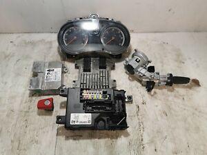 2012 Vauxhall Corsa D 1.2 Xer Complete Ecu Kit 55583740