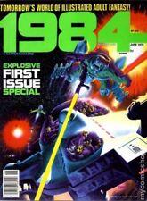 Warren Publishing  Fantasy 1984 Explosive First Issue Special Magazine June 1978