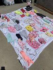 Bundle of baby girl clothes size 12 months