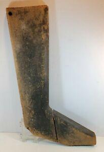Antique Wood Trade Sign Shoe Sales Shoe Repair