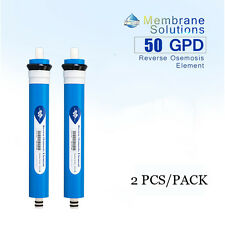 2pcs/pack 50GPD RO Membrane Reverse Osmosis Water Purification System Filters