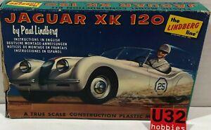 FN lindberg 609-39 N Gauge Building Kit 1/32 Jaguar Xk 120 #25