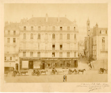 France, Ancienne Maison Jubeau  Vintage albumen print.   Tirage albuminé  21