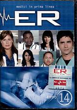 E.R. - Medici In Prima Linea Stagione 14 - 4 DVD NUOVO, SIGILLATO, PRIMA STAMPA