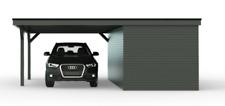 NEU Carport mit Geräteraum & Leimholzpfosten