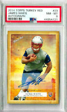 2014 Topps Turkey Red James White Autograph PSA 8 RC