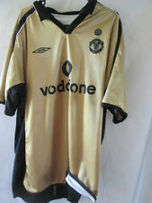 Manchester United Centenary 2001-2002 Away 3rd Football Shirt XL /13294