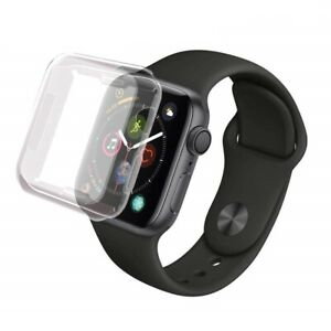 Coque de protection écran intégrale souple pour Apple Watch 38/40/42/44mm