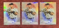 Lot of (3) 2018 Topps Chrome GLEYBER TORRES Rookie Insert #IA-GT Refractor RC🔥