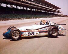 PARNELLI JONES 1963 INDY 500 AUTO RACING 8X10 PHOTO #2
