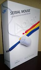 """Agiler 3-Button 9 Pin Serial Mouse 5.25"""" Floppy (P/N AGM-600E) Box NEW OLD STOCK"""
