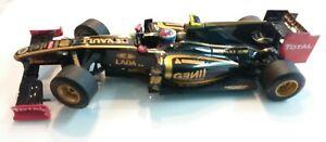 SCX SLOT Car Lotus Renault GP F1 Black Gold