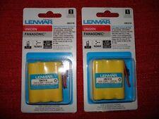 2 Lenmar CBC318 3.6V 4.3Wh / 1200mAh Cordless Phone Battery for UNIDEN,PANASONIC