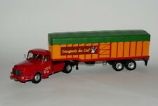 IXO 1/43 FRENCH SEMI TRAILER TRUCK WILLEME LC 610 T 1952 covered truck trailer !