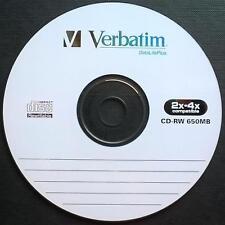 CD-RW 650 MB Verbatim