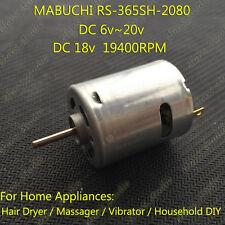 MABUCHI RS-365SH Motor DC6V~20V 18V 19400RPM Micro Carbon Brush DC Motor for DIY