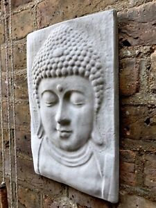 Large Beautiful Buddhas Wall Plaque. Unique From The Designer Sius.