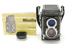 【EXC+++++】Minolta Autocord III TLR Camera 75mm f/3.5 Lens From JAPAN