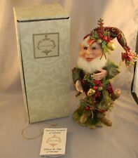 "Mark Roberts  ""Pinecone Elf"" LE 797 Mint in Opened Box"