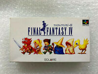 "Final Fantasy IV 4 ""Good Condition"" Nintendo Super Famicom SFC Japan"