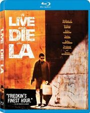 TO LIVE & DIE IN LA (1985 William Petersen) L.A. -  Blu Ray - Sealed Region free