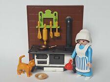 Playmobil Navidad Pastora con Accesorios, Cocina, Escenario, Portal, Mujer