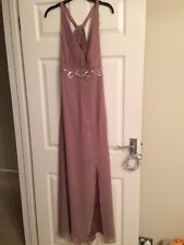 Lipsy Maxi Evening Dress Size 14