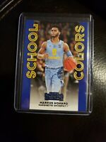 2020-21 Panini Contenders Draft Picks MARKUS HOWARD School Colors RC ROOKIE #33