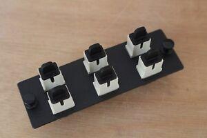 PANDUIT FAP6WEISC PAN-NET SC Fiber Adapter Panels – OM1 62.5/125μm