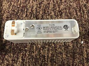 Lot-6x Prescolite Lite Trac Track Transformer TV75 Lighting Fitting White