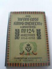 Regimentsgeschichte Regimental History - Wurt Infantry Regiment 124