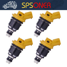 4X 750cc High impedance Fuel Injector 16600-AA170 JECS/Subaru Sti WRX GC8 2.5L