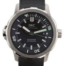NEW IWC Aquatimer Automatic Black Dial Steel 42mm Mens Watch IW329001