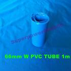 43-66mm shrinkable tube PVC shrink wrap tubing for NiMH Li-ion LiFePO4 battery