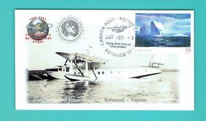 Newfoundland Flying Boat TransAtlantic Botwood - Foynes Ireland 07 flight cover