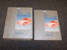 1997 Mitsubishi Mirage Sedan Workshop Shop Service Repair Manual Set DE LS 1.8L