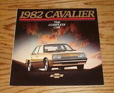 Original 1982 Chevrolet Cavalier Sales Brochure 82 Chevy