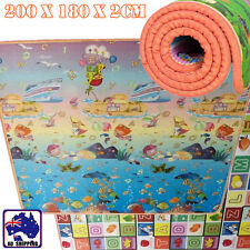 20mm 2mx1.8m Thick Baby Play Mat Floor Rug Picnic Cushion Crawling Kid Ocush3204