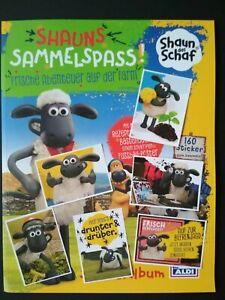 Aldi Shaun das Schaf - 20 Sticker aus Liste aussuchen alle normalen vorhanden!