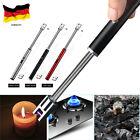 DE USB ARC elektrisch Feuerzeug Grill Stabfeuerzeug Lichtbogen Lighter BBQ 360°