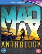 Mad Max Anthology BLU-RAY- REGION FREE *NEW & SEALED*