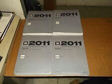 2011 Chevrolet Camaro Factory Service~Shop~Repair Manual~Complete Set~NOS~11~