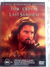 The Last Samurai-TOM CRUISE- (DVD, 2004, 2-Disc Set)* USED *