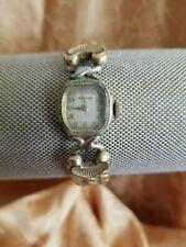 Vintage Wind Up Wittnauer Ladies Wristwatch w/ Spiedel Band Non Working