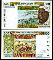 WEST AFRICAN STATES TOGO 500 FRANCS 2002 P 810T UNC
