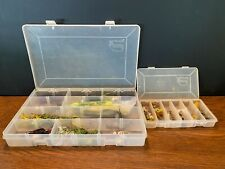 Lot of Fishing Supplies in Cases Lures Spinners Bait Hooks (8)