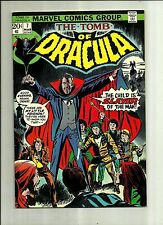 TOMB OF DRACULA #7 1973  MARVEL COMIC  BRONZE AGE HORROR COMIC BOOK   NICE
