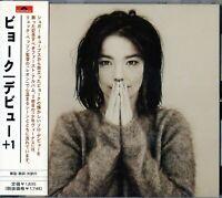 Bjork Debut +1 Japan CD Obi_UYCY-3242