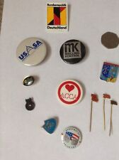 VINTAGE Pins Badges From USSR RUSSIAN